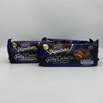 McVities Fully Coated Digestives (2 packs) Gallery Image 0