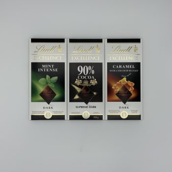 Lindt Excellence 100g Bars Gallery Image 0