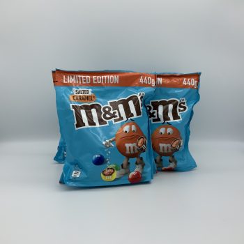 M&M Salted Caramel Pouch 440g Gallery Image 0