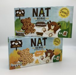 NAT Bears Cereal – Honey or Chocolate