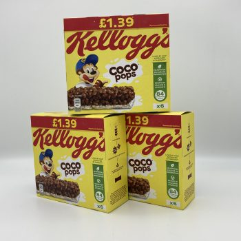 Coco Pops Cereal Bars (2 boxes) Gallery Image 0