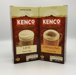 Kenco Latte or Cappuccino Sachets – 5 pack