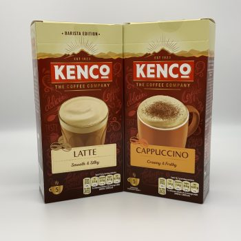 Kenco Latte or Cappuccino Sachets – 5 pack Gallery Image 0