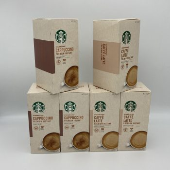 Starbucks Instant Latte or Cappuccino 5 Pack Gallery Image 0