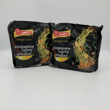 Amoy Singapore Noodles 150g (2 packs) Gallery Image 0