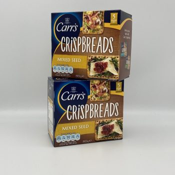 Carr's Crispbreads – Mixed Seeds (2 packs) Gallery Image 0