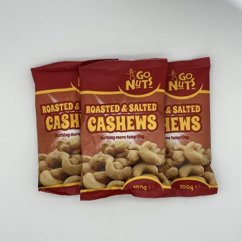 Roasted Salted Cashews 100g Gallery Image 0