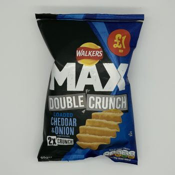 Walkers Max Double Crunch Cheese & Onion (3 packs) Gallery Image 0